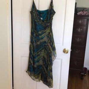 Laundry by Shelli Segal 100% Silk Dress 8